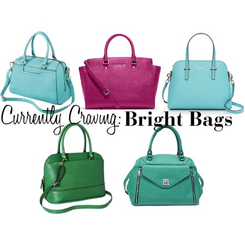 Currently Craving: Bright Bags | Tulips & Rain