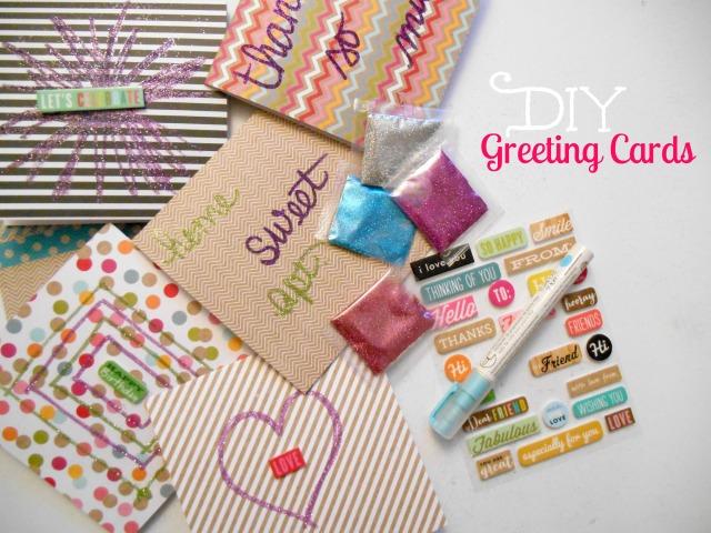 DIY Greeting Cards | Tulips & Rain