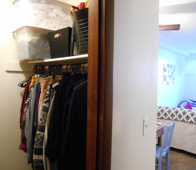 Open House: Closet | Tulips & Rain