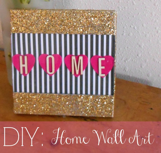 DIY Home Wall Art | Tulips & Rain