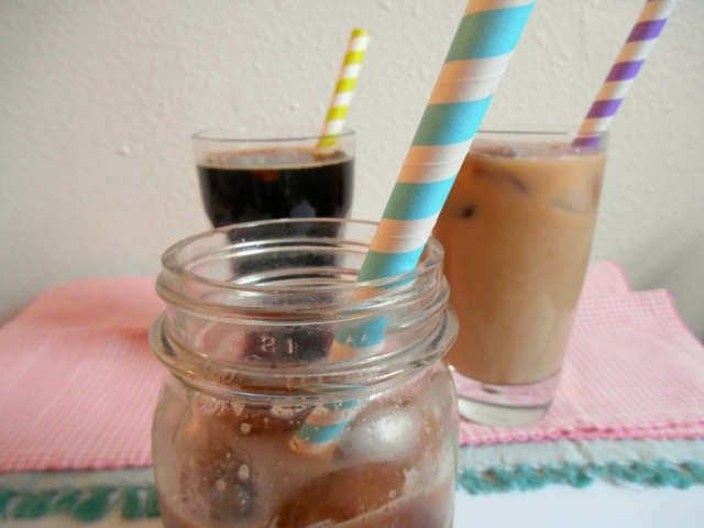 Iced Coffee 3 Ways