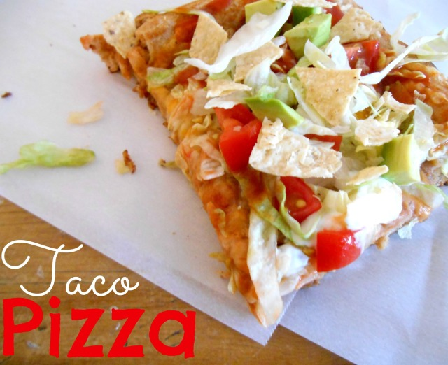 Taco Pizza | Tulips & Rain
