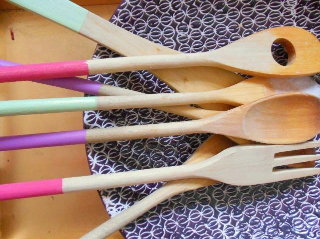 DIY Dipped Spoons